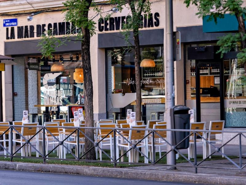 franquicia terraza bar